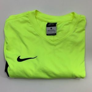 Nike dri-fit shirt neon green